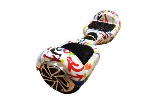 Гироскутер Smart Balance Wheel 6.5 Белый граффити